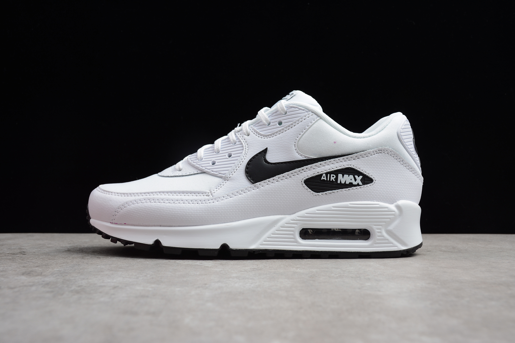 aad9a09ef9 Prev Nike Air Max 90 Essential Men Running Shoes White Black 325213-131