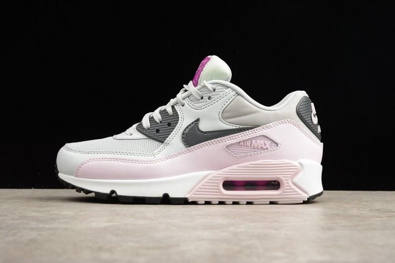 d952ddf01eebcc Nike Air Max 90 Essential White Pink Grey Glow 616730-112 - Febbuy
