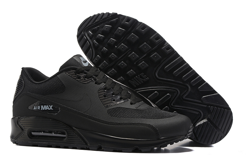 official photos 391a6 29037 Prev Nike Air Max 90 Ultra 2.0 Essential Black Running Shoes 875695-002.  Zoom. Move your mouse over image or click to enlarge