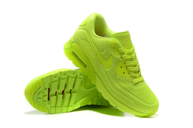 8741bbf1af ... Nike Air Max 90 Ultra BR Volt Neon Volt Lime Running Sneakers Shoes  725222-700 ...