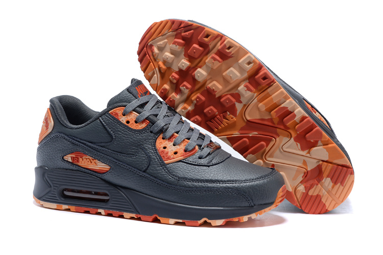 huge selection of cd5f2 2b765 Prev Nike Air Max 90 QS Men Running Shoes Black Grey Red Orange 813150-105.  Zoom