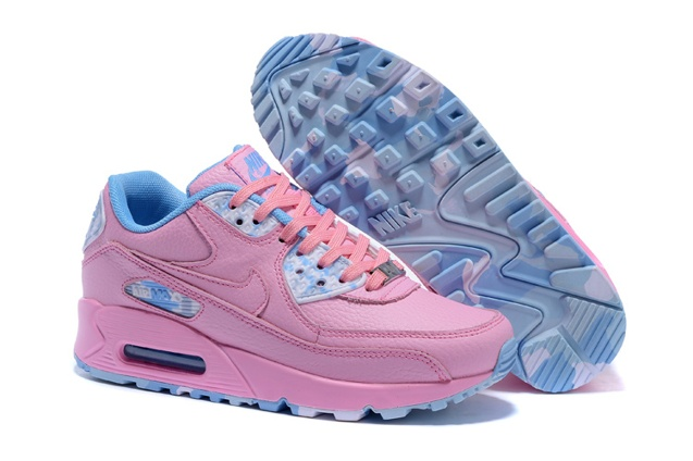 classic fit 04374 5af07 Move your mouse over image or click to enlarge. Next. CLICK IMAGE TO  ENLARGE. Nike Air Max 90 QS WMNS Womens Shoes Pink Sky Blue ...