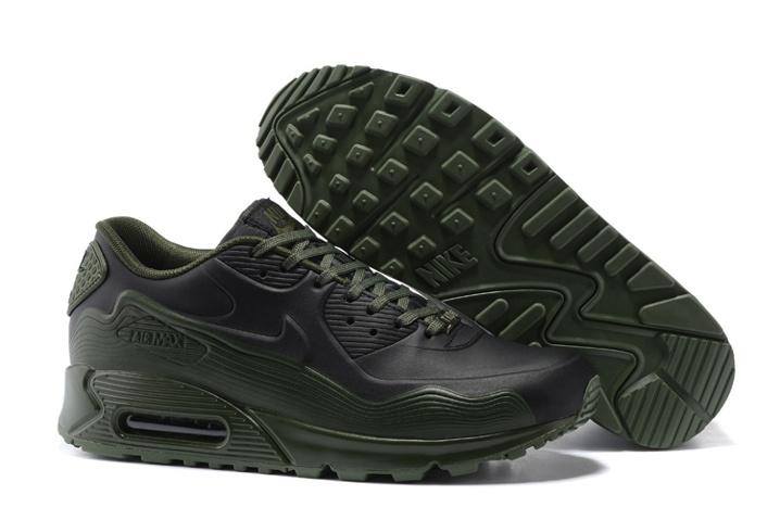 designer fashion 5817d 09b0f Prev Nike Air Max 90 VT QS Men Running Shoes Army Green Black ...