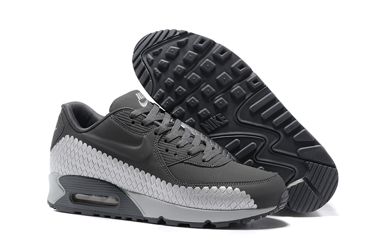 huge selection of 4f370 c1e48 Prev Nike Air Max 90 Woven Men Training Running Shoes Cool Grey White  833129-009. Zoom