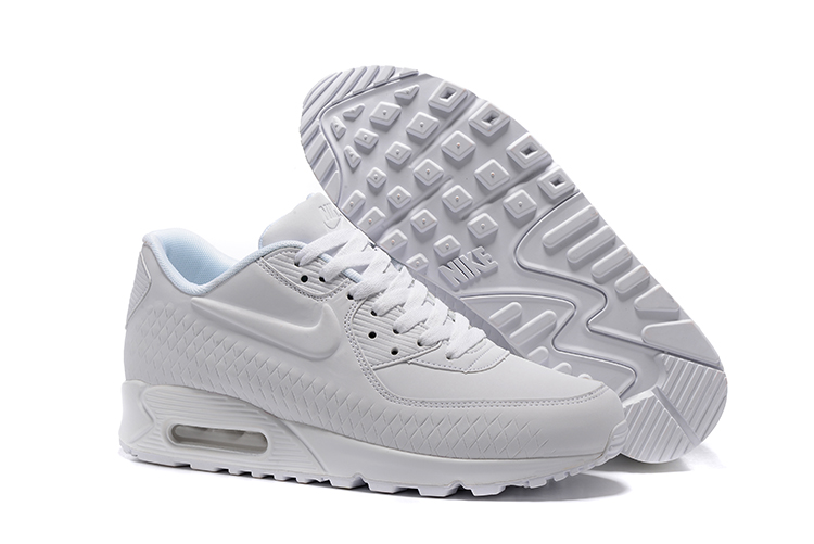 cheap for discount d76c4 6f3a0 Prev Nike Air Max 90 Woven White Running Shoes Unisex 833129. Zoom. Move  your mouse over image or click to enlarge