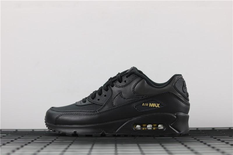 finest selection 746c9 74f37 Prev Nike Air Max 90 Premium Black Metal Gold 700155-011. Zoom