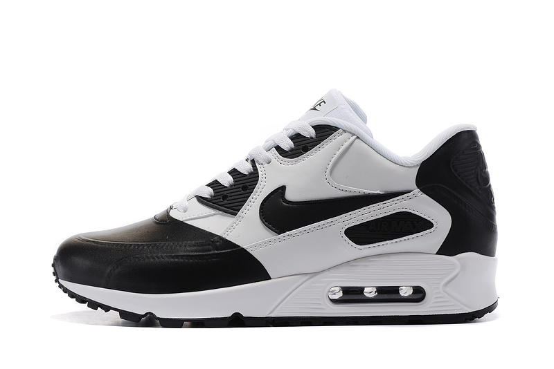 Nike Air Max 90 Premium SE black white Men running shoes 858954 003