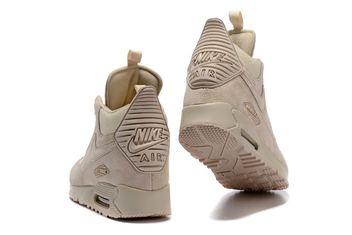 sports shoes e795a b43f6 ... low price nike air max 90 sneakerboot winter suede all rice white 684714  021 ce7a5 70792
