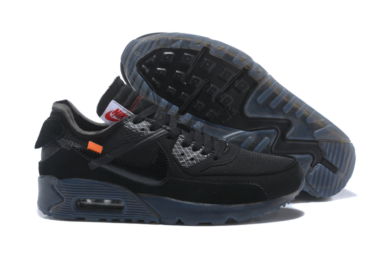 efb304a88f Prev OFF WHITE x Nike Air Max 90 OW Men Running Shoes Black All. Zoom