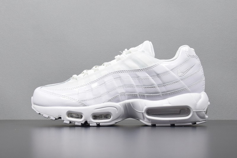 dd84e6b32a Nike Air Max 95 OG White Pure Men Light 307960-108 - Febbuy