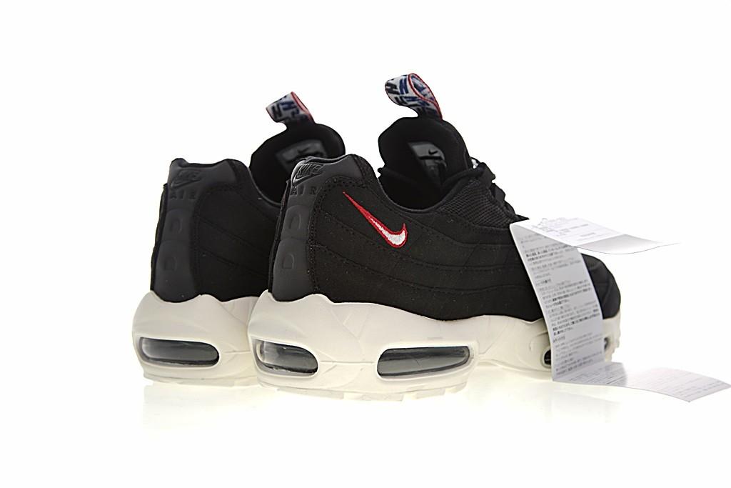 ... 1b94b d2407 Nike Air Max 95 TT Mens Air Mattress Running Shoes Black  AJ1844-102 ... 26e8716cd