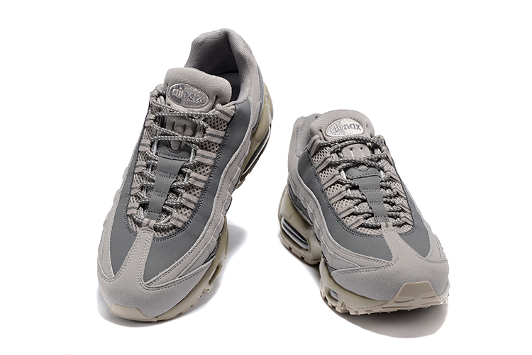 Nike Air Max 95 Wolf grigio Uomo In esecuzione scarpe Scarpe da Ginnastica Trainers 749766