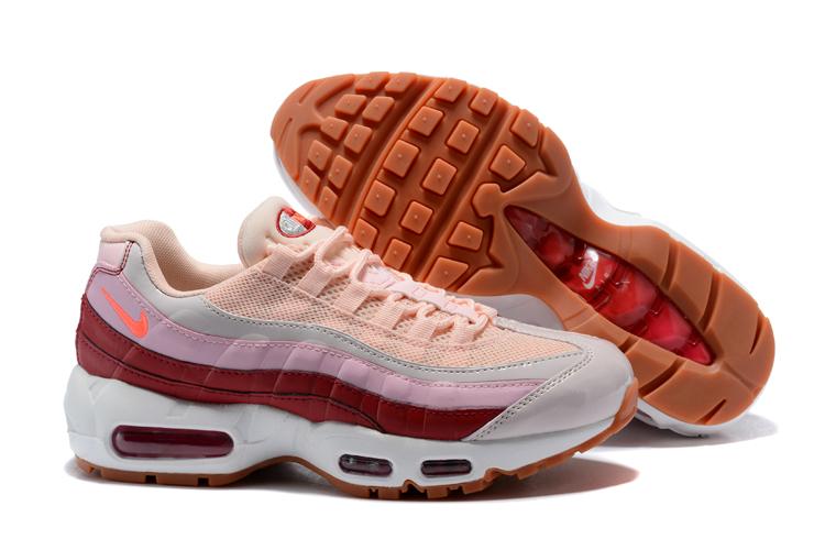 73a09de6ec Febbuy Max Shoes Running Brown Air Pink 95 Nike Women White N8OXnPwkZ0