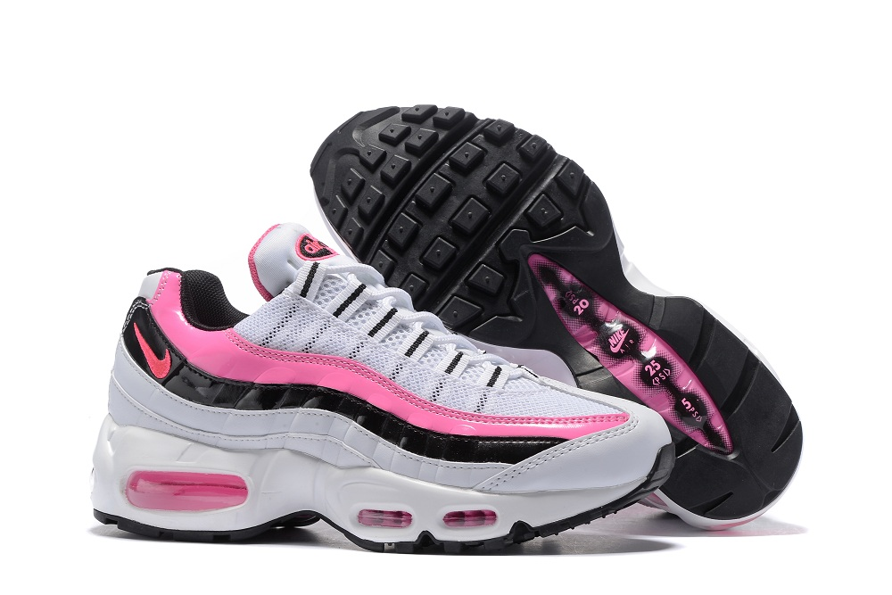 huge discount cc61c 8fe88 Prev Nike Air Max 95 20th Anniversary White Pink Black Women Shoes