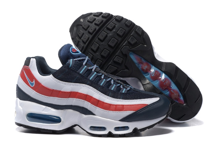 3751289b6d Nike Air Max 95 City QS London England Blue Red White Grey 667637 ...