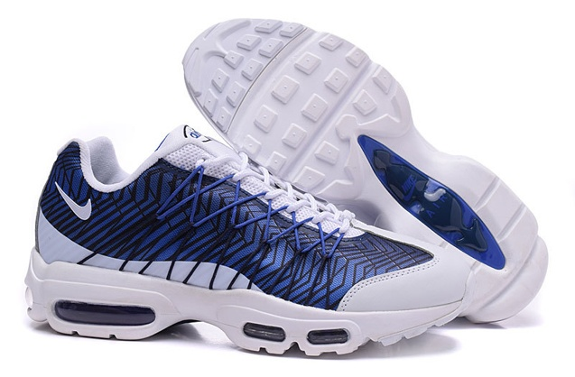 save off 19be7 60a98 Nike Air Max 95 Ultra JCRD Midnight Navy White Blue Unisex Running ...