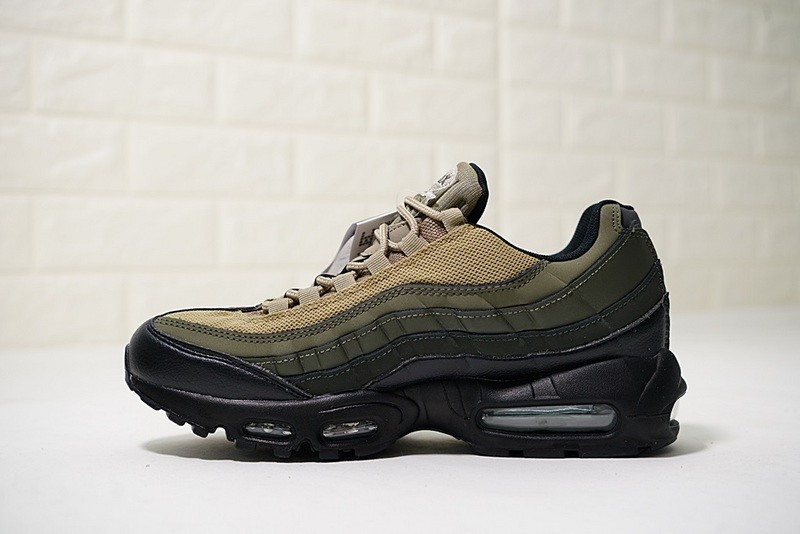 hot sale online cf894 378ca Prev Nike Air Max 95 Essential Black Sequoia Cargo Khaki Dark Green 749766- 024