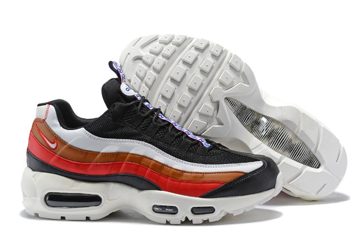 cb2afad44a Prev Nike Air Max 95 Essential Men Women Casual Fashion Shoes Black White  Red
