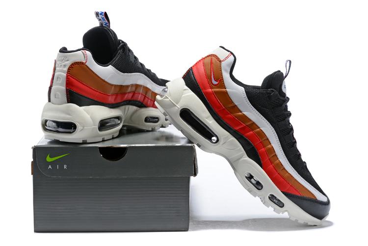 Nike Air Max 95 Essential Men Women Casual Fashion Shoes Black White Red