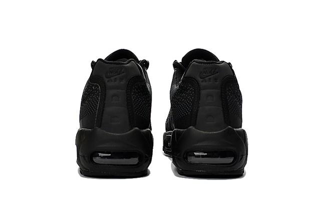 142853820 ... Nike Air Max 95 Jacquard All Black Men DS Running Shoes 644793-100