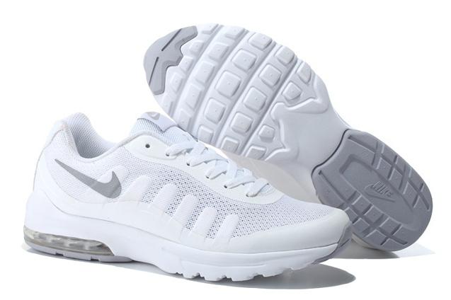 Nike Air Max Invigor Print Men Training Running Shoes White Silver 749866 100