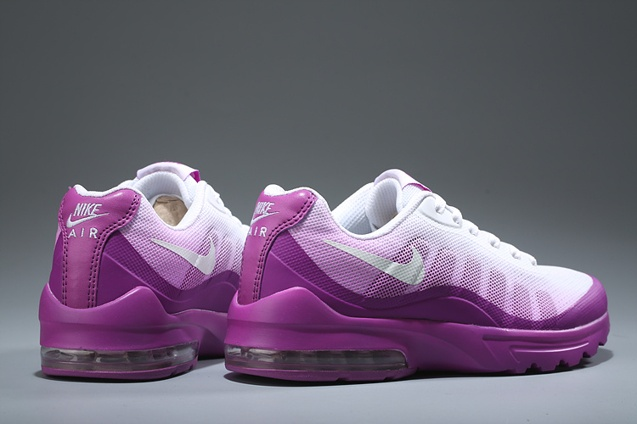 buy popular 9b378 bde56 ... Nike Air Max Invigor Women Athletic Sneakers Running Shoes White Purple  749866-110 ...