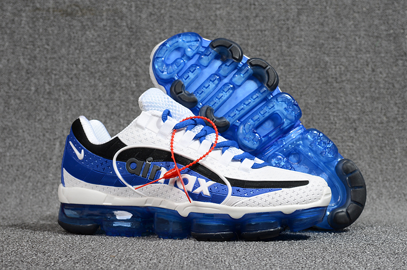 detailed look e2176 71147 Nike Air Max 95 VaporMax Running Shoes White Blue