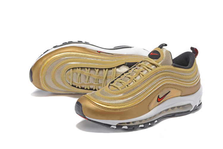 cheaper 89690 08b2a ... low cost nike air max 97 metal gold red men running shoes sneakers  trainers 312641 700