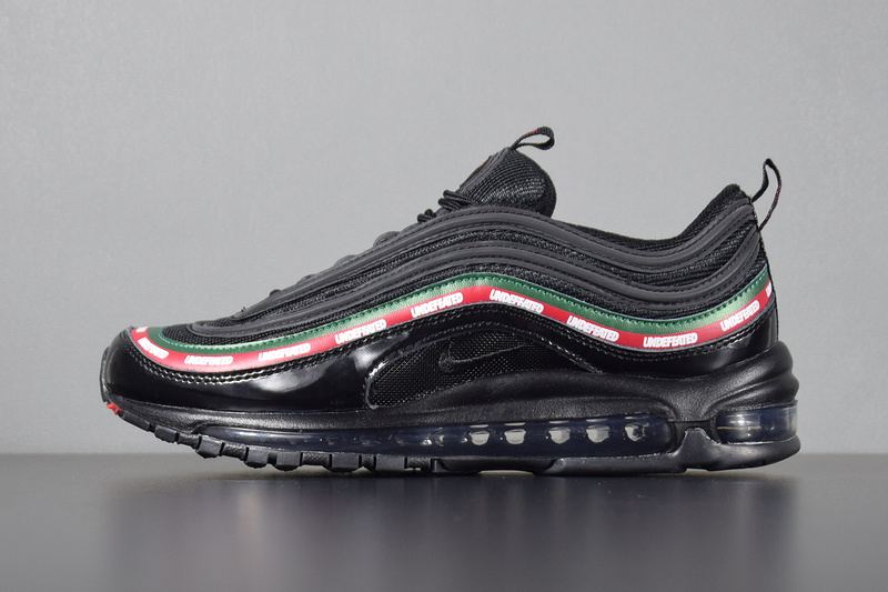 Nike Air Max 97 OG Undefeated x Unisex Black AJ1986 001 Febbuy