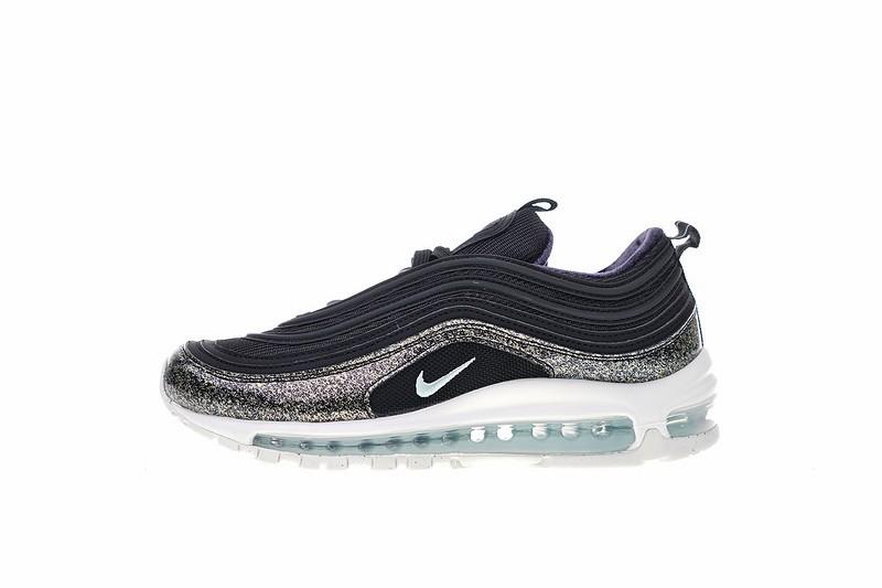 purchase cheap b1a43 3f12e Nike Air Max 97 Pinnacle QS GS Ornament Black Glacier Blue Sneaker  AH9153-001