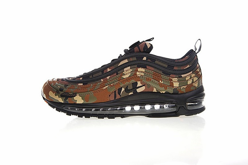 79a55b77fc7 Nike Air Max 97 Premium QS Country Camo Pack Italy AJ2614-202 - Febbuy