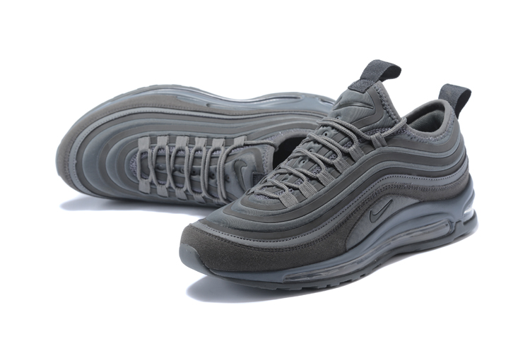 5bf6975d3b ... Nike Air Max 97 UL 17 SE Men Running Shoes 97 Ultra Wolf Grey All  918356 ...