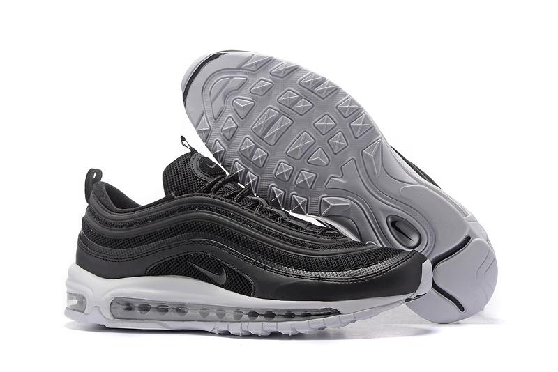 promo code 081de 4783c Prev Nike Air max 97 black white Men Running Shoes 884421-010. Zoom