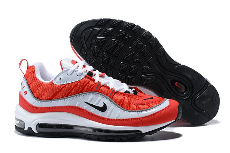 Prev Nike Air Max 98 University Red White Red Men Sneakers Rare 640744-600 205b166c9