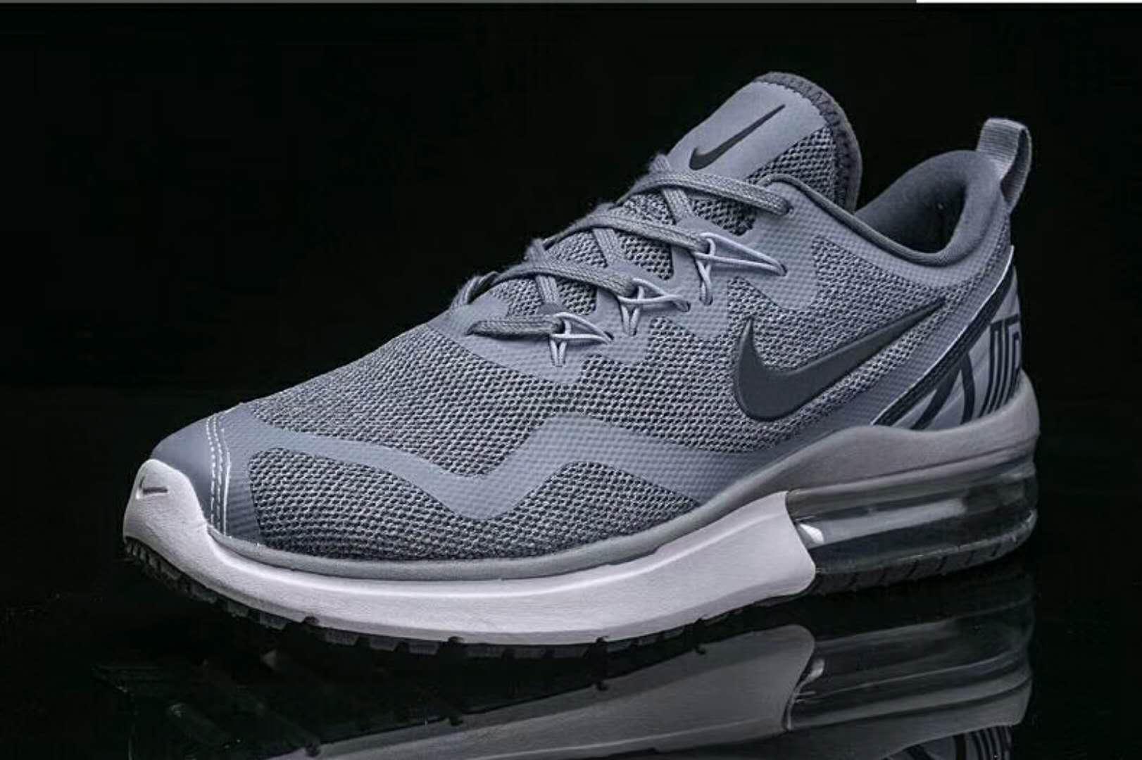 44131cd7cdab Prev Nike Air Max FURY Running Shoes Wolf Grey White. Zoom