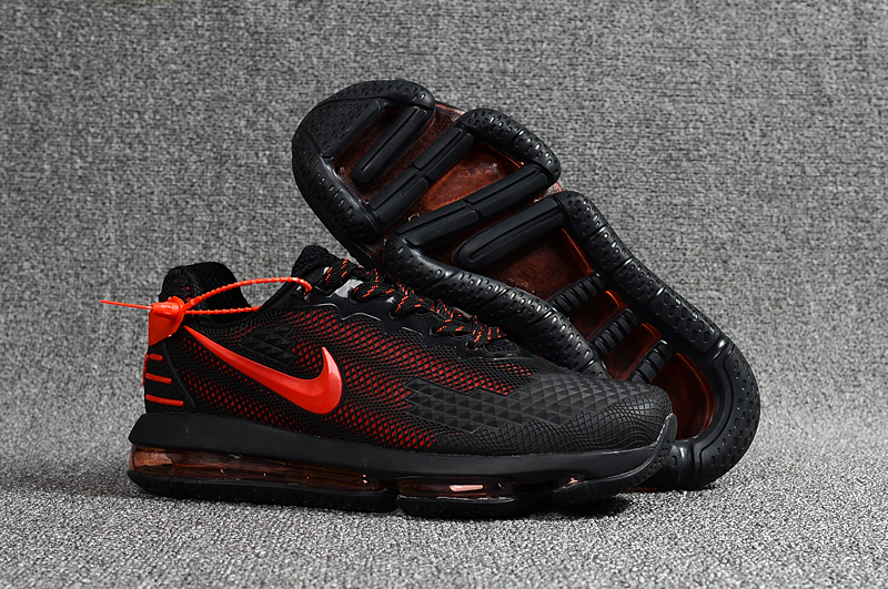cdbae0cec69d9 Nike 2019 Air Vapormax Flair Running Shoes Black Red - Febbuy