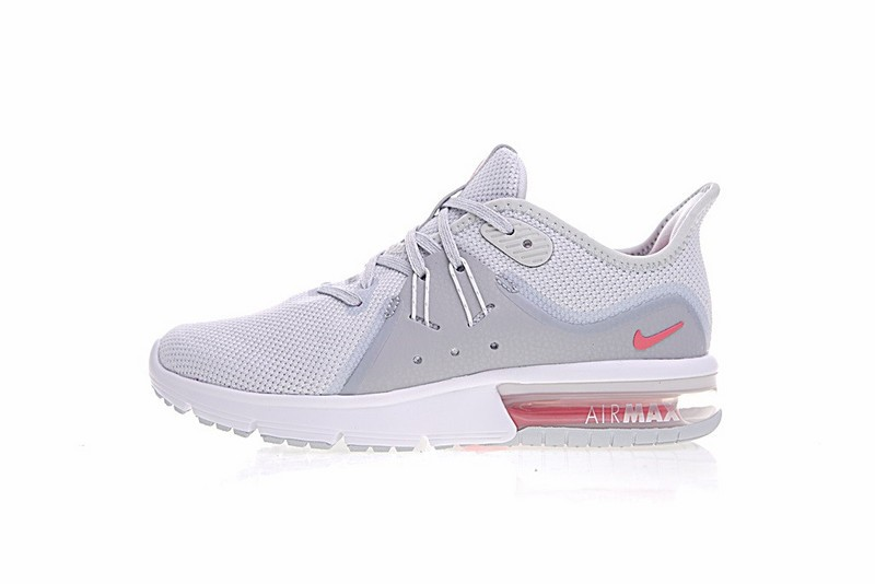 new product 07a1f dcc5c Prev Nike Air Max Sequent 3 Summit White Grey Pink 921694-012