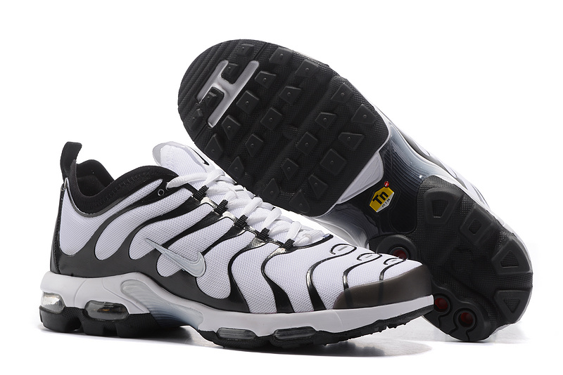 6f998a019e Prev NIKE AIR MAX PLUS TN ULTRA 3M bright black knight men running shoes  898015-101. Zoom. Move your mouse over image or click to enlarge