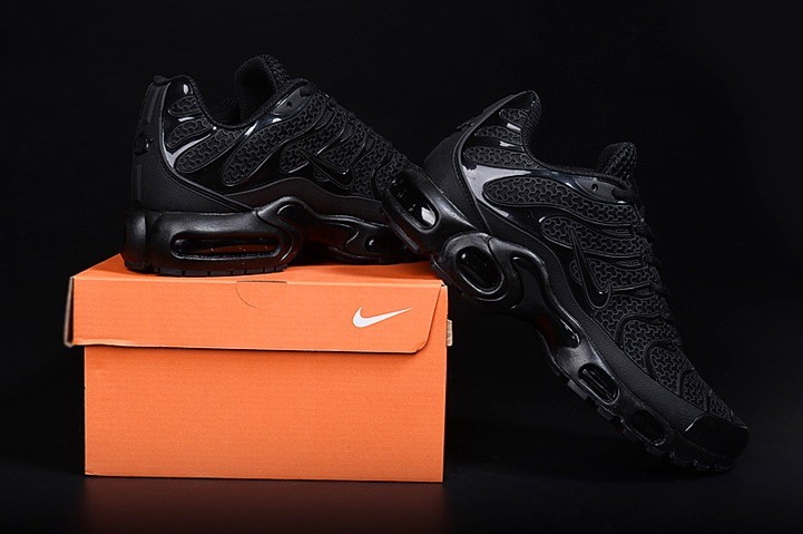 brand new 8e2ae f437e Prev Nike Air Max Plus TN KPU Tuned Men Sneakers Running Trainers Shoes All  Black