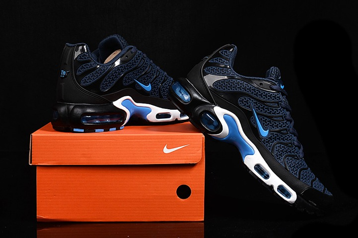 new concept af5ee b6fad Prev Nike Air Max Plus TN KPU Tuned Men Sneakers Running Trainers Shoes  Navy Black White