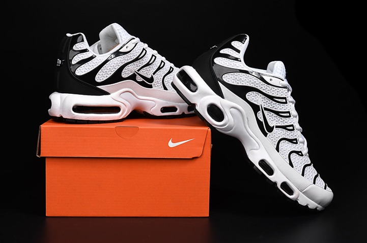 reputable site ff422 2d2aa Prev Nike Air Max Plus TN KPU Tuned Men Sneakers Running Trainers Shoes  White Black. Zoom