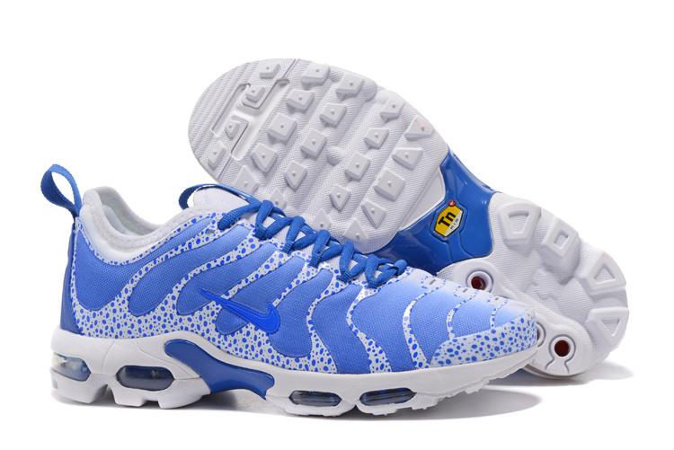 4978d9a8002f7 Nike Air Max Plus TN Ultra Running Shoes Men Blue White - Febbuy