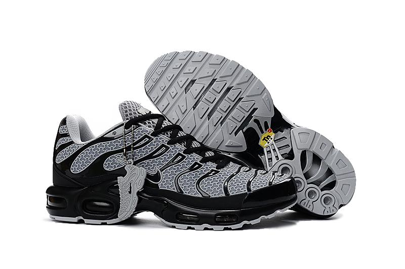 reputable site 9f59a 92737 Prev Nike Air Max Plus TXT TN KPU Black White Men Sneakers Running Trainers  Shoes 604133-. Zoom