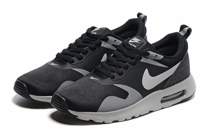 Nike Air Max Tavas Men Stealth Grey Athletic Running Shoes 705149 018