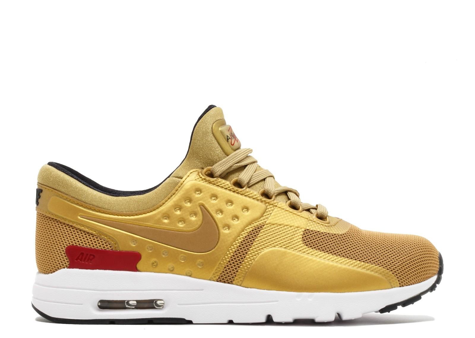 Womens shoes Nike W Air Max Zero QS Metallic Gold
