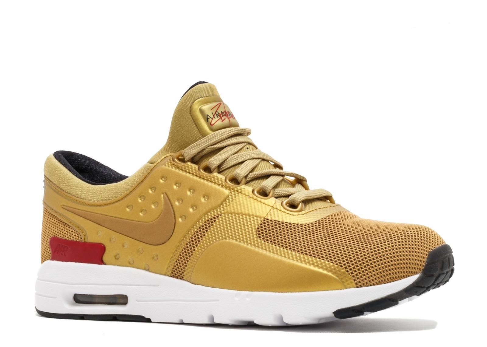 Nike - Nike Womens Air Max Zero Qs Metallic Gold
