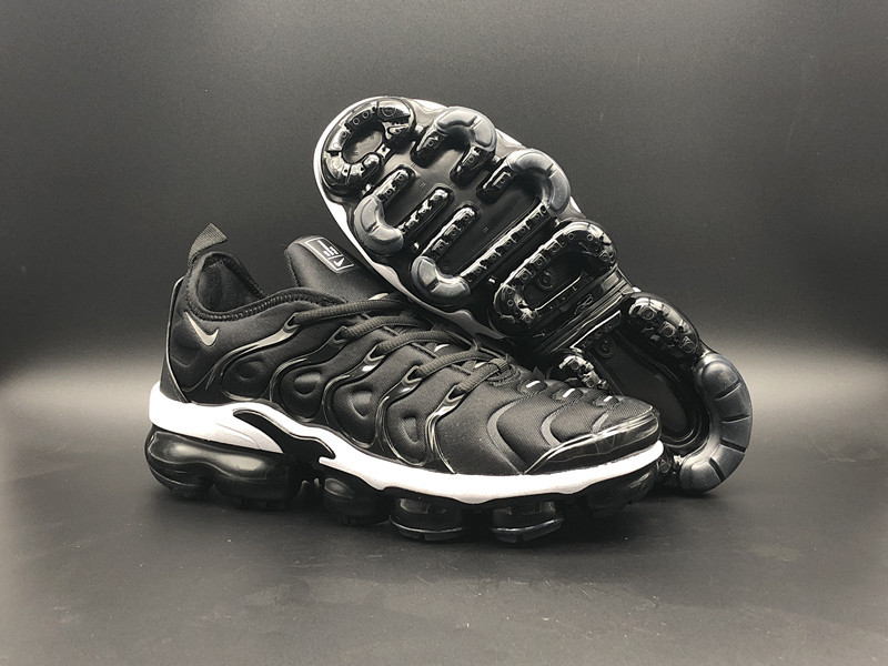 9c4a85a94186f Prev Nike Air Vapor Max Plus TN TPU Running Shoes Black White. Zoom. Move  your mouse over image or click to enlarge