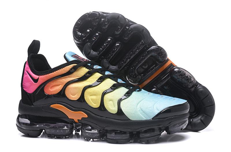 ab4f35c588295 Prev Nike Air Vapor Max Plus TN TPU Running Shoes Black Yellow Pink. Zoom