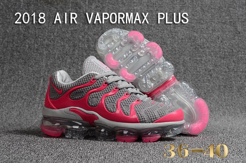 1f80538a2e14c Prev Nike Air Vapor Max Plus TN TPU Running Shoes Grey Pink. Zoom