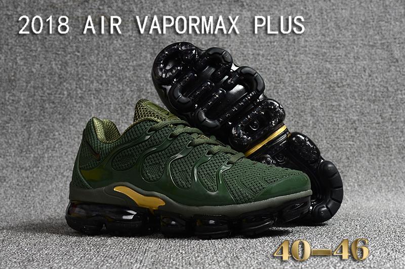 108d278fcae Prev Nike Air Vapor Max Plus TN TPU Running Shoes Hot Camo Green Gold